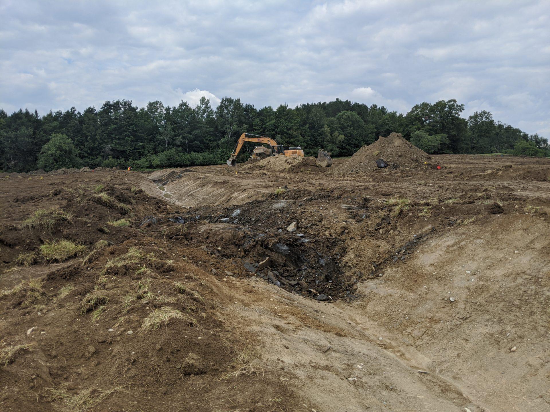 Accompagnement au chantier - drainage été 2020